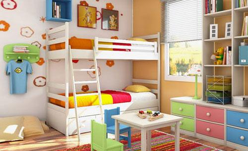 Цвета для детской комнаты