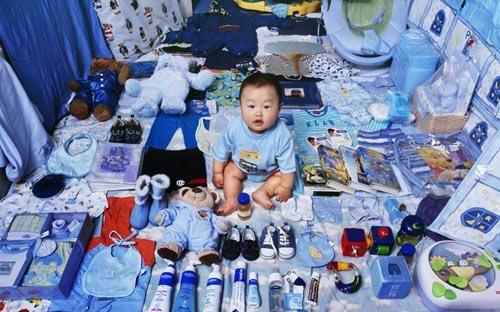 Выбор цвета детской комнаты