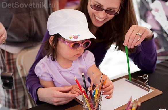 Рисуйте вместе с ребенком