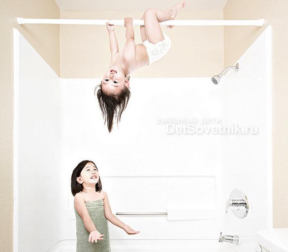 Веселые сестрички Кристин и Кайла