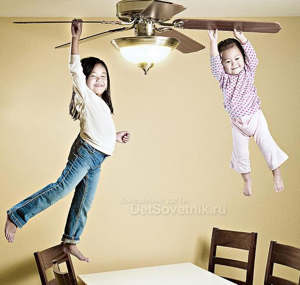 Полет на вентиляторе